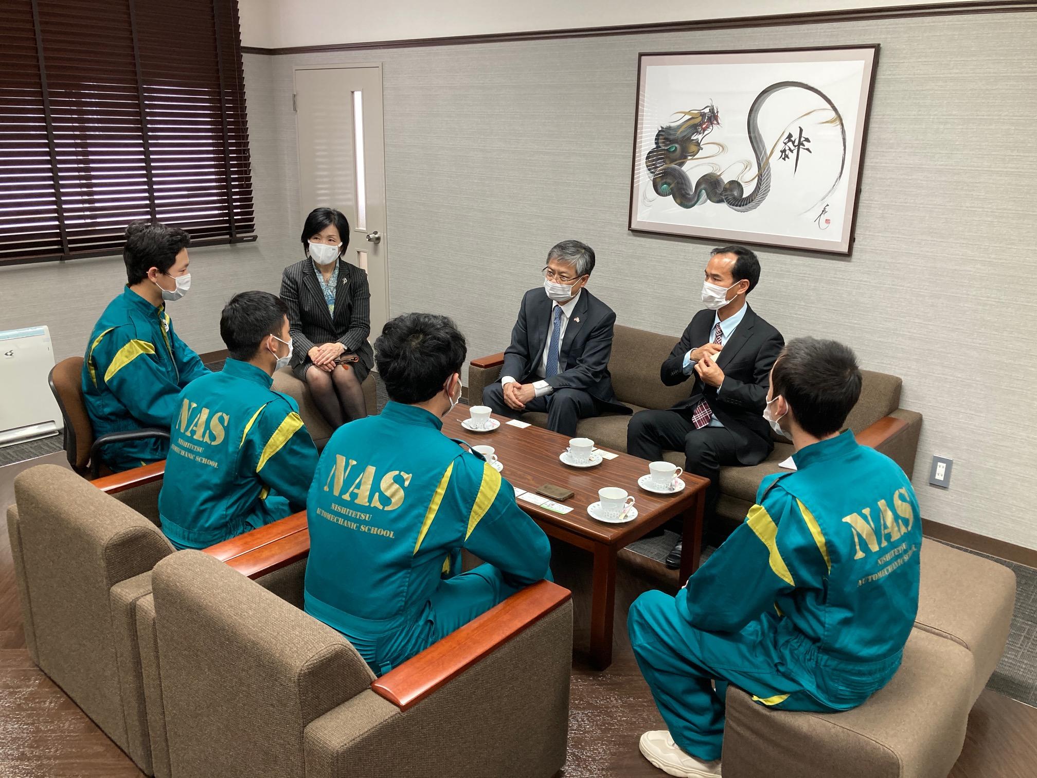 在福岡ベトナム総領事が訪問されました!